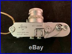 Vintage LEICA M3 35mm RANGEFINDER Film Camera & Summicron f=5cm Lens