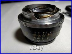 Vintage Leitz Summilux 11.4/35 Canada Camera Lens #2802946 Leica WithOriginal Box