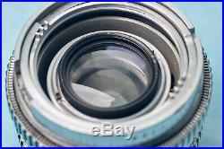 Vintage Lens Kodak Ektar 50mm/1.9 Eastman Rochester For Ektra Camera