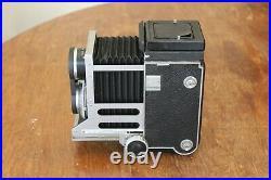 Vintage Mamiyaflex C Professional TLR Film Camera Sekor Lens with Case