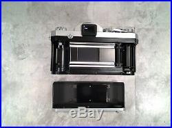 Vintage NIKON F 35mm Camera withNikkor-S 12, f = 5cm Lens + EXTRAS