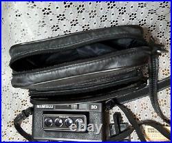 Vintage Nimslo 3D Quadra Lens 35mm Film Camera With Instructions, Manual & Case