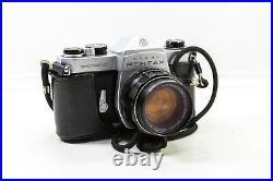 Vintage Pentax Asahi Spotmatic SP Film Camera And Takumar 50mm f/1.4 50mm Lens