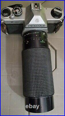 Vintage Pentax K1000 35mm Camera with 200MM Lens-FREE SHIPPING