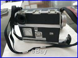 Vintage Rapid Omega Camera With Koni-Omega Hexanon 13.5 Lens 90 mm