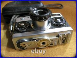 Vintage Rollei 35 Compact Film Camera 40mm F3.5 Lens