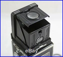 Vintage Rolleiflex Tlr Camera With 75mm F3.5 Tessar Lens 1951-54