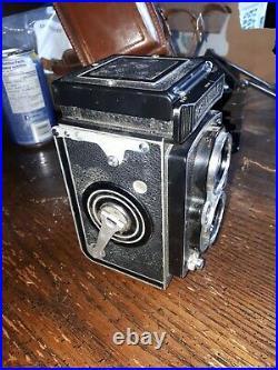 Vintage Rolleiflex Twin Lens Reflex /tlr Camera & Case