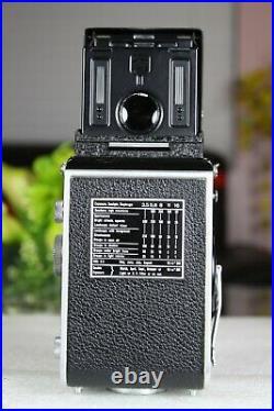 Vintage Rolleiflex X Type 2 TLR & Schneider Kreuznach 75mm/f13.5 Xenar lens