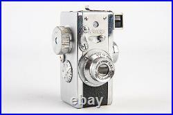 Vintage Steky Model II Subminiature 16mm Film Spy Camera with 25mm Lens V17