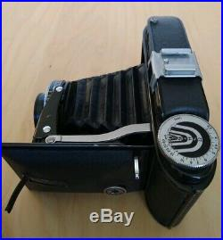 Vintage VOIGTLANDER BESSA Folding Camera Braunschweig 10.5cm f3.5 Lens MINT