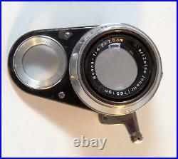 Vintage Zeiss Ikon Movikon-16 film camera with (4) Zeiss lenses, hood, crank, case