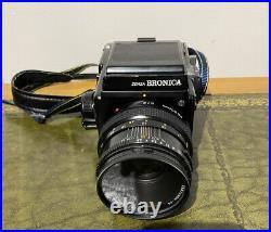 Vintage Zenza Bronica SQ-Ai 6x6 Camera Zenzanon 80mm F/2.8 Lens