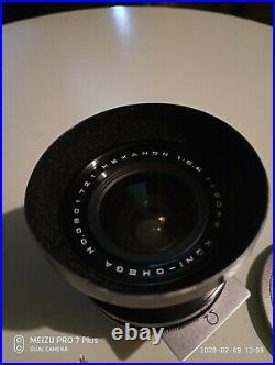 Vintage camera Koni Omega wideangle lens 60mm with case