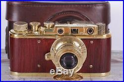 Vintage camera Leica D. R. P 35 mm Leitz Elmar lens f = 5, 13.5