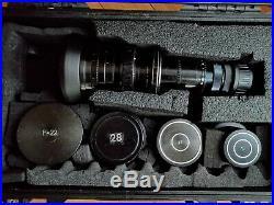 Vintage lomo camera lens kit PL mount 5 Lenses Primes/Telephoto