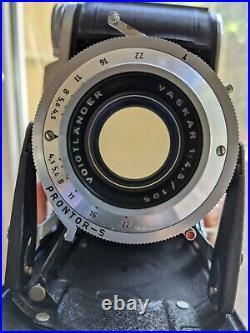 Voigtlander Bessa I Vintage Medium Format camera 6x9. CLA and perfect lens