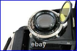 Voigtlander Bessa RF Bellows Camera Case Book Heliar F3.5/10.5cm Lens C1935 N R