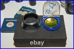 Voigtlander Prominent Camera, Nokton 50mm 1.5, Extras, Adapt lens Sony E Fuji X