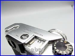 Vtg Canon VI-T 35mm Film Rangefinder Camera with 50mm 12 Nikkor Lens