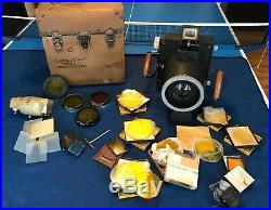 WW2 US NAVY TYPE F8 LARGE FORMAT AERIAL CAMERA MADE BY KEYSTONE With TELEPHOT LENS