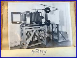 Wwii German Large Format Mahogany Field Camera Carl Zeiss Jena Apo Tessar Lens