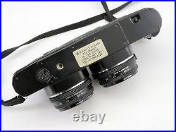 Yashica 3D twin stereo FX-3 Super 2000 SLR Film Camera with Zeiss Lenses LS3
