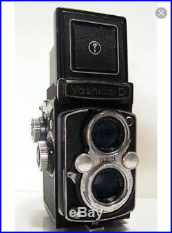 Yashica D MAT 124 G Medium Format TLR Camera + 80mm F3.5 Lens