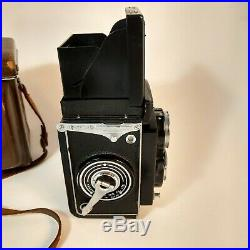 Yashica Mat Copal MXV TLR Film Camera 80mm 13.5 with Lens/Case Made in Japan