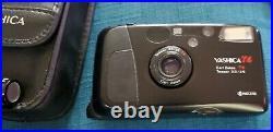 Yashica T4 D 35mm Camera Zeiss 3.5 / 35mm Lens Vintage