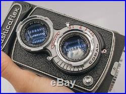 Yashica Yashicaflex Model C 120 Film TLR Camera with Yashikor 80mm F3.5 Prime Lens