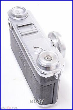 ZEISS CONTAX II 35MM RANGE FINDER CAMERA PARTS/REP. With 50MM F/2 SONNAR LENS