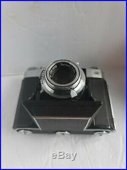 ZEISS IKON SUPER IKONTA IV 534/16 Folding Camera with 75mm 3.5 TESSAR LENS clean