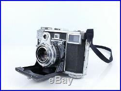 Zeiss Contessa 35 35mm Film Folding Rangefinder Camera Tessar 45mm F2.8 Lens