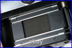 Zeiss Ikon Bulls Eye Contarex 1 + Distagon 35mm F/4 Lens #37002801 Magazine Back