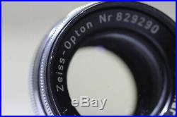Zeiss Ikon Contax IIa 35mm Rangefinder with Opton Sonnar T 50mm F/2 Lens
