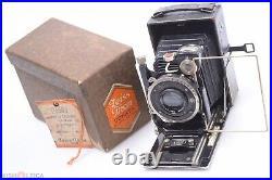 Zeiss Ikon Donata 6.5x9cm Scarce In Box Plate Camera 105mm 4.5 Tessar Lens
