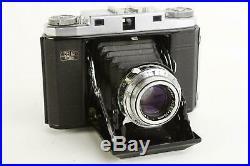 Zeiss Ikon Ikonta 524/16 folding rangefinder camera with 75mm 13.5 Tessar lens