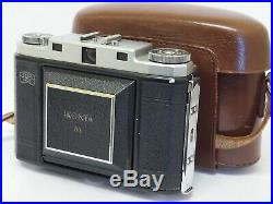 Zeiss Ikon Ikonta M 524/16 With Novar 75mm F3.5 Lens & Case. Stock No u9683