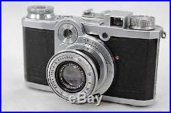 Zeiss Ikon Nettax 538/24, vintage 35mm camera, lens Jena Tessar 2,8/50mm & case