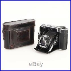 Zeiss Ikon Super Ikonta 532/16 Camera w Tessar 80mm f2.8 Lens & Case