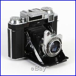 Zeiss Ikon Super Ikonta 533/16 6x6 Camera with Tessar 80mm f2.8 T Lens EX++