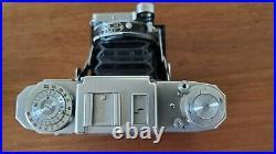 Zeiss Ikon Super Ikonta 533/16 mf folding camera Tessar 80mm f2.8 T lens, tested