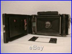 Zeiss Super Ikonta C with10.5cm f/4.5 Tessar Lens, Case & O/M Near Mint & CLA