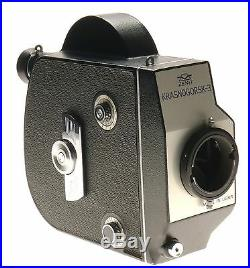 Zenit Krasnogorsk-3 16mm Cine Film Camera USSR Meteor 5-1 Zoom Lens f/1.9 17-69