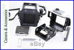 Zenza Bronica S2 + 2 Lenses & Accessory Camera Set Genuine Japan Loaded Vintage